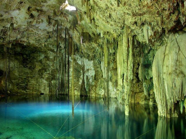 Go cave diving in Tulum