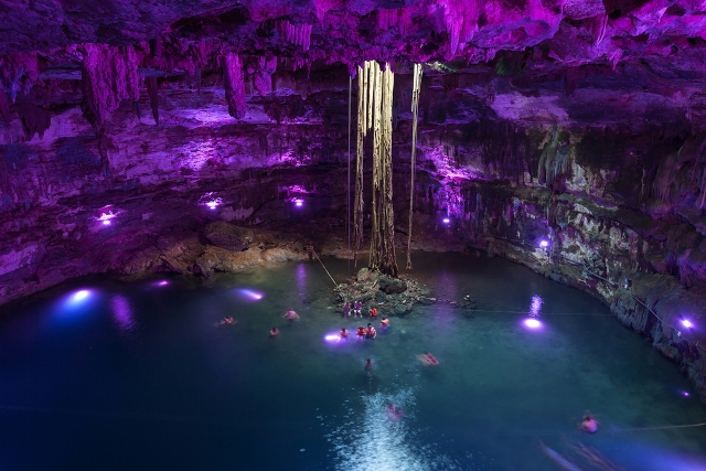 Take the Plunge and Go Snorkeling in Cancun Cenotes