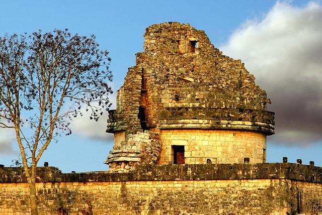 """Visita el impactante edificio """"Caracol"""", el observatorio astronómico de Chichén Itzá - DestinosFun!"""