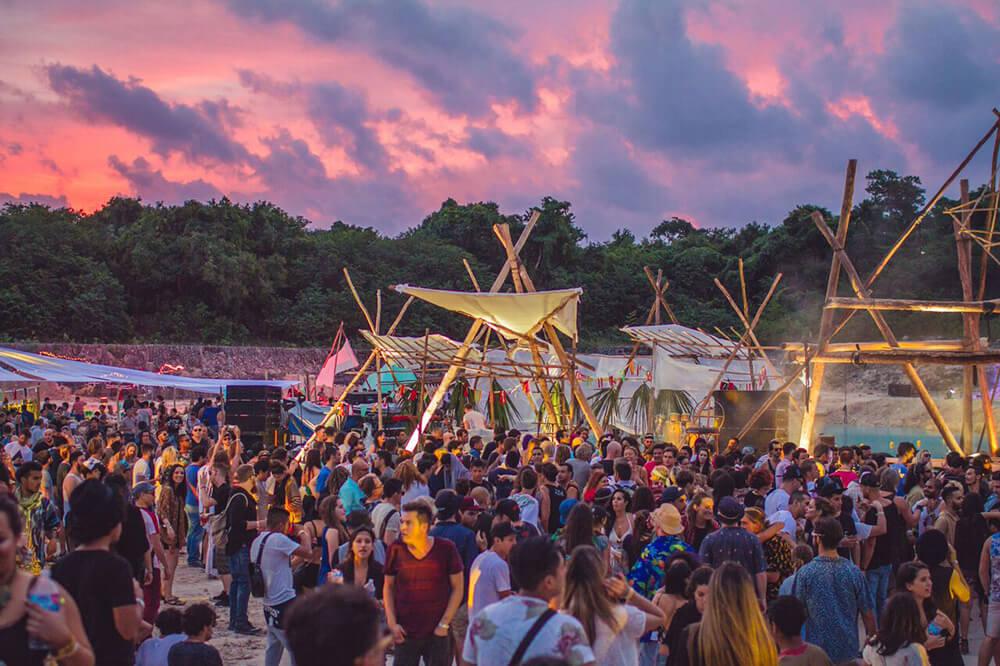 Concierto de Música Electrónica en Riviera Maya