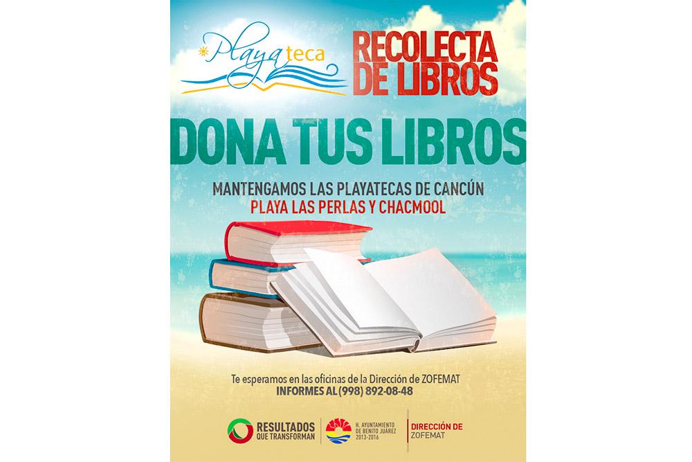 Recolecta Libros Playateca