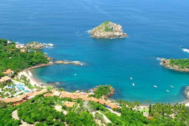 Costa Careyes, un rincón de bellas playas en las cercanías de Costalegre